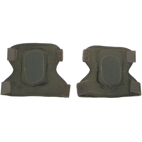 mfh neoprene elbow pads olive green