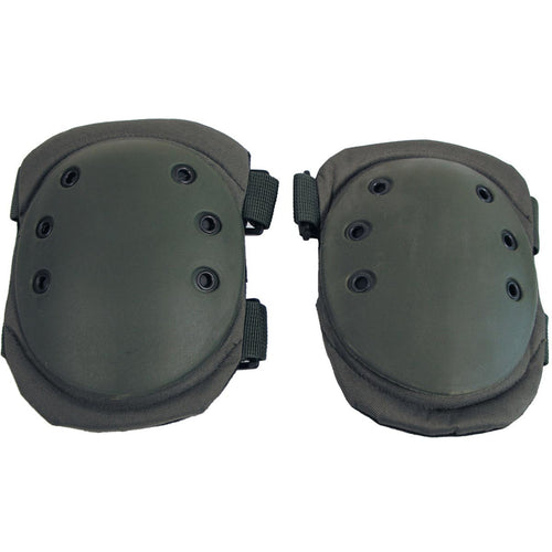 mfh protective knee pads olive green