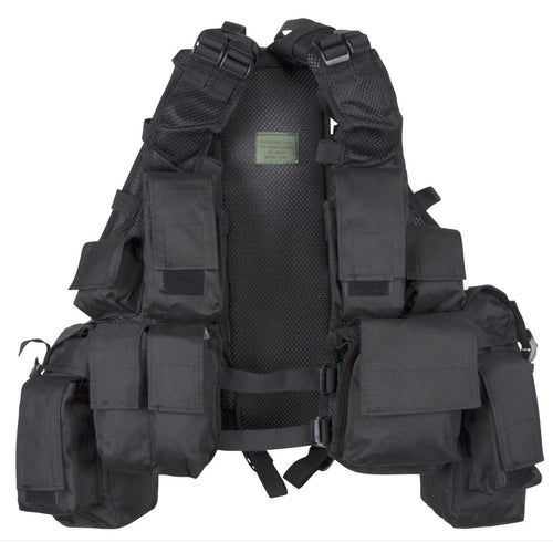 MFH Black South African Assault Vest