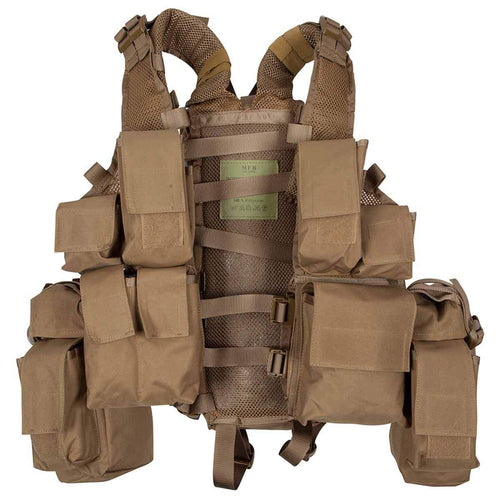 mfh south african assault vest coyote brown