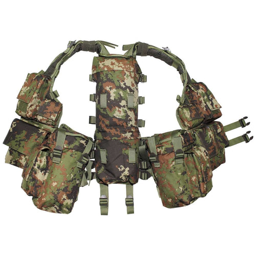 MFH Vegetato Camo South African Assault Vest