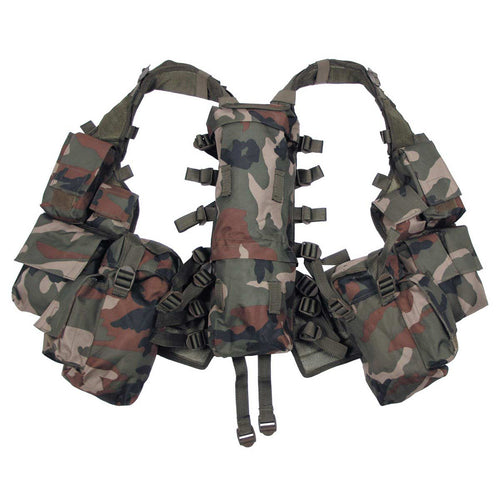 MFH Woodland Camo South African Assault Vest