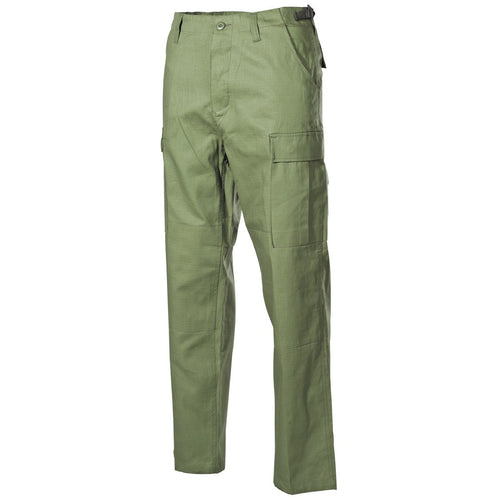 mfh olive green bdu combat trousers