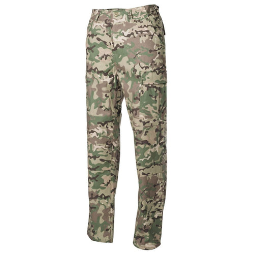 mfh operation camo bdu combat trousers