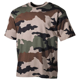 MFH US T-Shirt CCE Camouflage