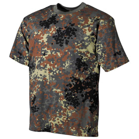 MFH US T-Shirt Flecktarn