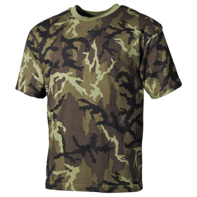 MFH US T-Shirt M95 Czech Woodland