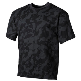 MFH US T-Shirt Night Camo