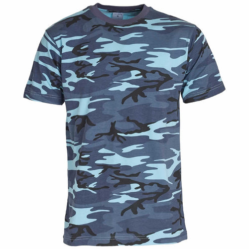 511dba5c US Army Midnight Blue Camouflage T-Shirt - MilitaryKit.com