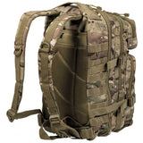 rear of mil-tec small assault pack multitarn