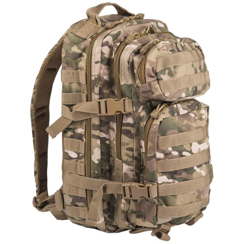mil-tec small 20L molle assault pack multicam camo