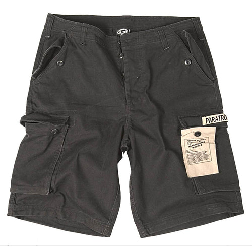 Mil-Tec Paratrooper Shorts Black