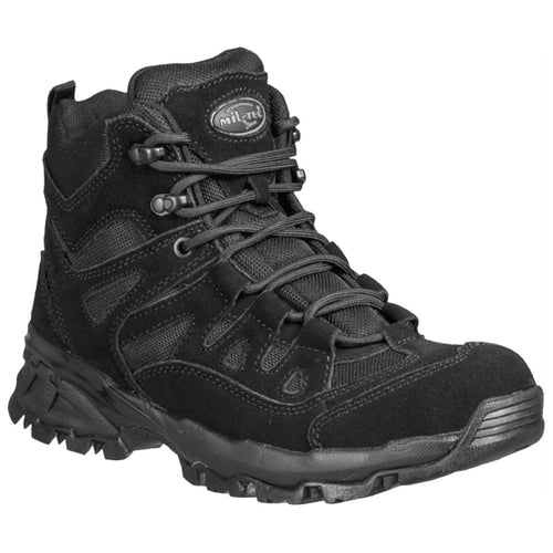 mil-tec black tactical squad boots