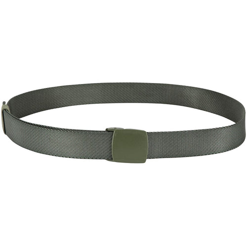 mil-tec elasticated quick-release belt olive green