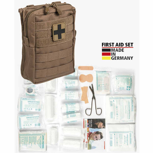 mil-tec first aid kit large dark coyote