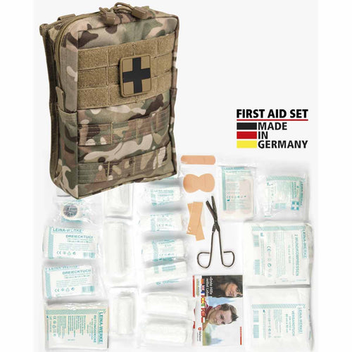 mil-tec first aid kit large multitarn
