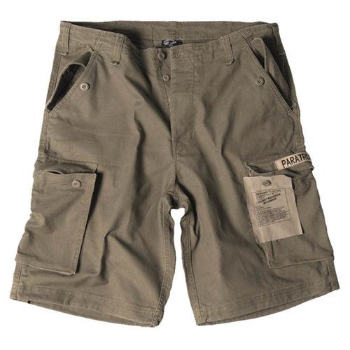 1b150c108d Mil-Tec Paratrooper Military Cargo Shorts Olive Green | Military Kit