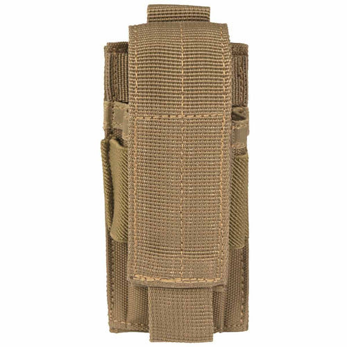 mil-tec single pistol ammo pouch coyote