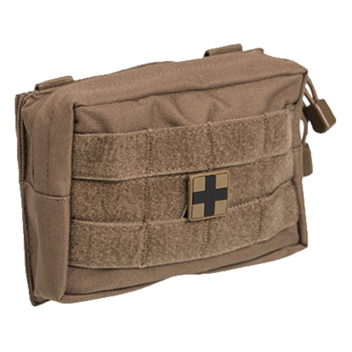 mil-tec coyote small first aid kit pouch