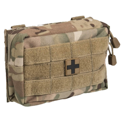 mil-tec camouflage small first aid kit pouch