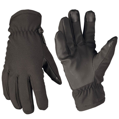 Mil-Tec Softshell Thinsulate Gloves Black