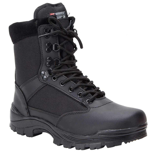 Mil-Tec Black Tactical Side Zip Boots