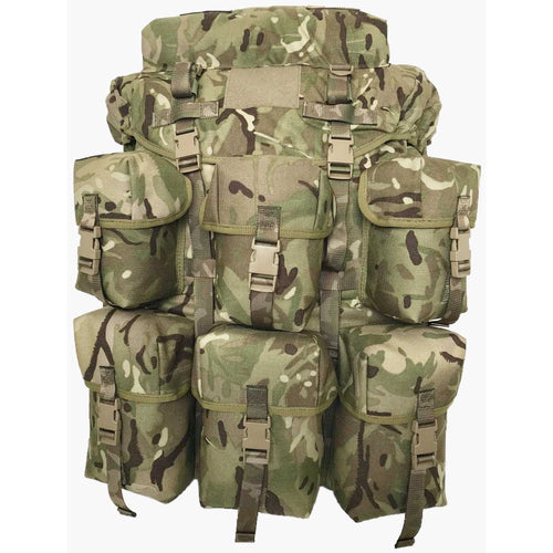 mtp field pack air support bergen 150 litre