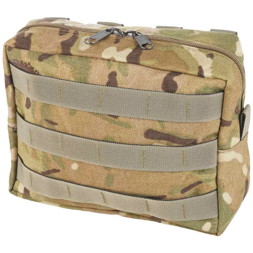front of utility pouch zipped horizontal