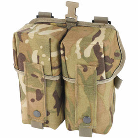front of plce double ammo pouch para