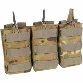 front of open top triple ammunition pouch