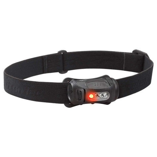 black princeton tec fred head torch red white led