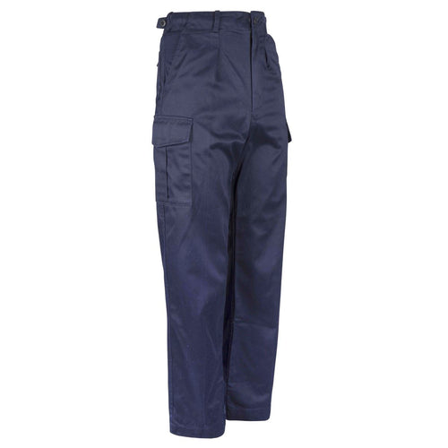 royal navy blue awd working trousers