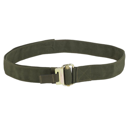 roll pin webbing belt olive green