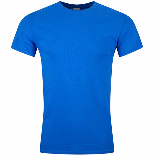 royal blue cotton t-shirt