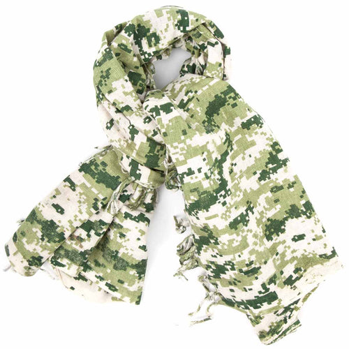 digital camo olive shemagh scarf