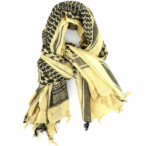 black sand shemagh scarf