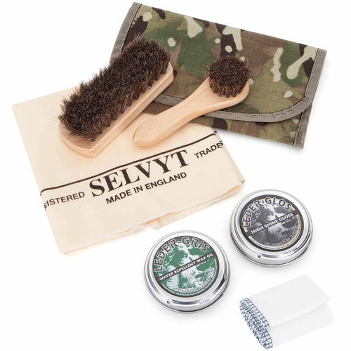 Military Boot Polishing Cleaning Kit