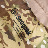 snugpak logo on sleeper extreme sleeping bag