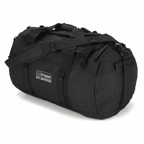 snugpak kit monster 120 litre black holdall