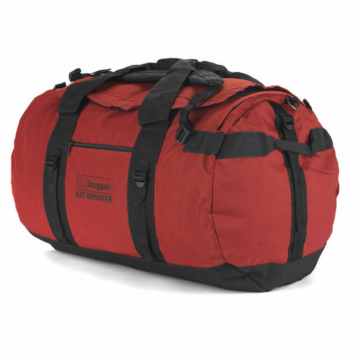 snugpak kit monster 120 litre red holdall