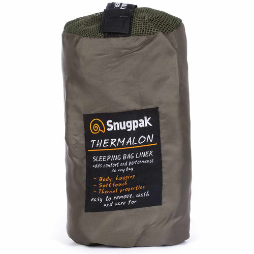 SnugPak Thermalon Sleeping Bag Liner Olive by