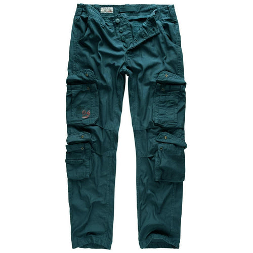 Surplus Airborne Slim Fit Cargo Trousers Blue