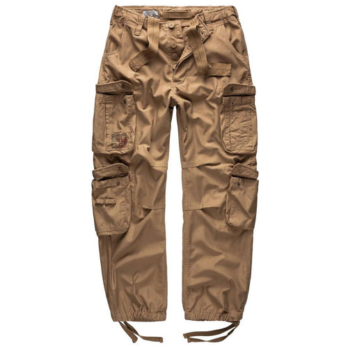 surplus raw vintage beige cargo trousers