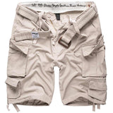 surplus raw vintage white division shorts