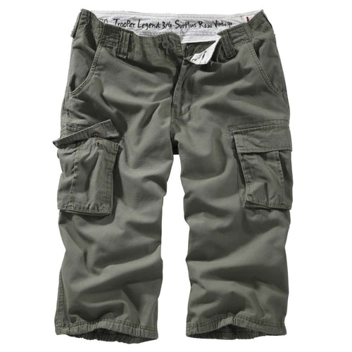 surplus trooper legend shorts olive front