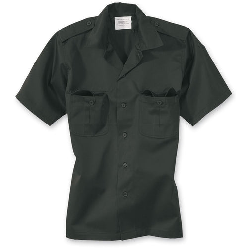 surplus US short sleeve shirt black