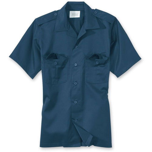 surplus US short sleeve shirt navy blue