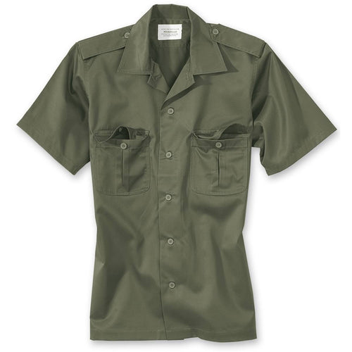 surplus US short sleeve shirt olive green
