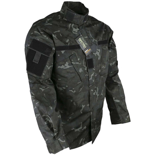btp black camo acu shirt