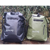 green and black ussen backpacks